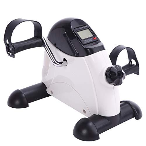 Chunse Ejercitador de Pedales, Mini Bicicleta estática Portátil de Ejercicios de Interior para ejercitar los Brazos y Las piernas Ejercicio y rehabilitación