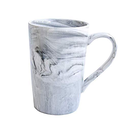 Marmor-Muster-Becher Keramik Kaffeetasse Frühstückstassen Damen-Mann-Geschenk