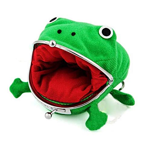 COLORCASA Leaf Village Headbands with Anime Psychic Beast Cute Green Frog Coin Purse Wallet for Costume Cosplay Ninja Themed Party