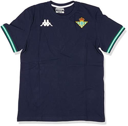 Kappa Zoshim 4 Betis Camiseta, Hombre, Azul Marino, S