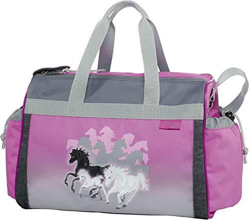 Spirit - Pferd - McNeill Schulsporttasche Sporttasche Schwimmtasche mit NASSFACH Freizeittasche Kindertasche