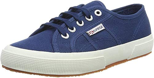Superga 2750 Cotu Classic, Sneaker Unisex - Adulto, Blu (Blue Mid), 37 EU