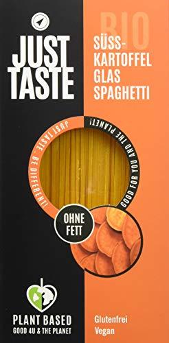 Just Taste Bio Süßkartoffel Glas Spaghetti, 6er Pack (6 x 250 g)  3085