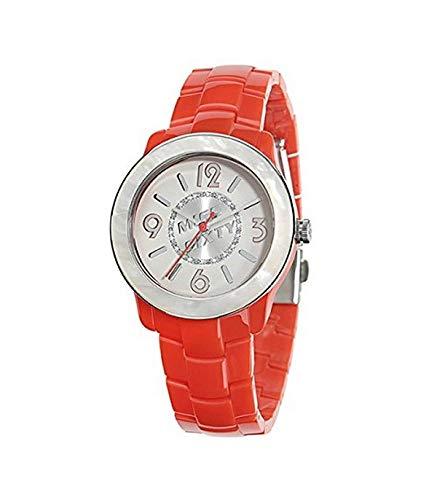 Miss Sixty Reloj analogico para Mujer de Cuarzo con Correa en Resina R0753122501