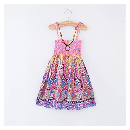 Youpin Vestido de verano para niñas y bebés, con tirantes de encaje, estilo casual, para adolescentes, color morado, talla de niño: 160