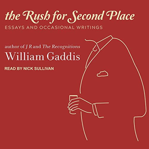 The Rush for Second Place audiobook cover art