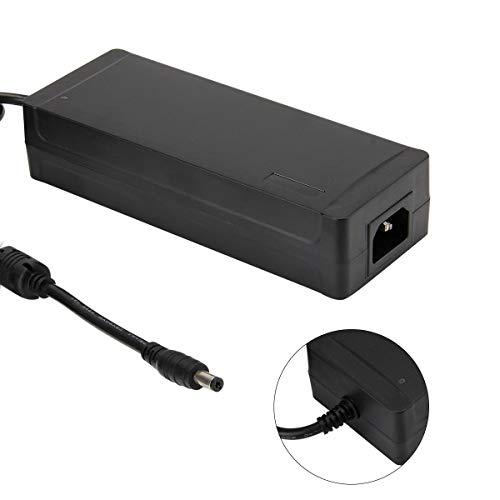 Netzteil 12V SUPERNIGHT AC to DC 12V 10A 120W Power Supply Adapter Netzteiladapter Spannungswandler, 5.5mm x 2.1mm DC Plug Stecker für DC12V 5050 5630 Flexible LED-Streifen-Lichter (EU STECKER)