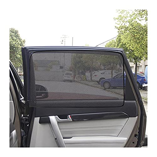 Prospective Coche magnético Sun Shade Protection Cortina de Coche Ventana de Coche Sombrilla Lateral Malla Sun Visor Protección de Verano Película (Color : Back Square)