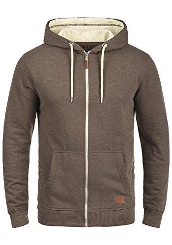 BLEND Hulker 20704468ME Zip-Hood, Größe:L;Farbe:Mocca Mix (70816)