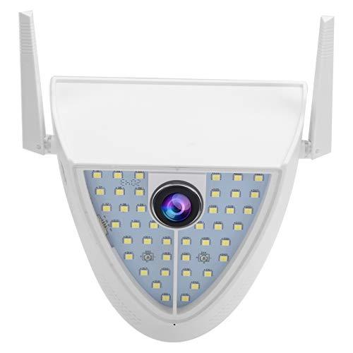 Cámara WiFi 1080P 44 luces Monitor de patio Audio bidireccional a todo color Visión nocturna IP65 Cámara de patio impermeable 100‑240V(EU)