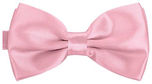 BomGuard rosa herren-fliege schleife damen frauen männer mann hund katze weihnachten mann gebunden rosane rose