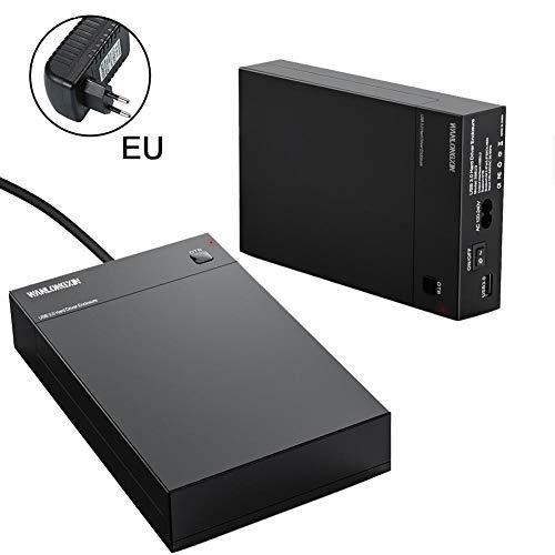 oshidede USB 3.0 2.5 Pulgadas / 3.5 Pulgadas Caja de Disco Duro SATA Unidad de Disco Duro Externa OTB One Touch Backup Disk Box Soporte UASP 10TB
