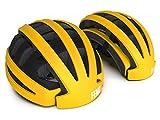 FEND Folding Commuter Bike Helmet - 2020 Version (Medium/Large - Matte Yellow)
