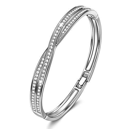 Susan Y Armband Damen Damenarmband Kristalle von Swarovski Damen Schmuck Frauen Damen Weihnachten Valentinstag Geburtstag