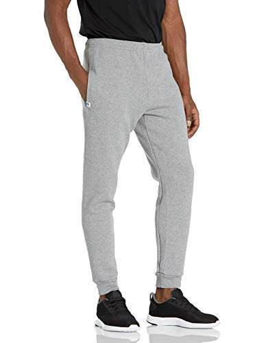 Russell Athletic Men's Dri-Power Fleece Joggers, Oxford, Large