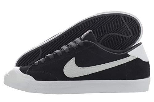 Nike Zoom all Court CK QS, Scarpe da Skateboard Uomo, Nero/Bianco/Nero/Bianco, 42 EU
