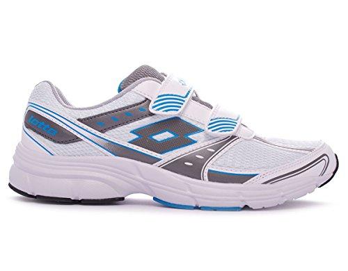 Lotto R5956 - Zapatillas de running de Lona para hombre multicolor multicolor, color multicolor, talla 12 UK