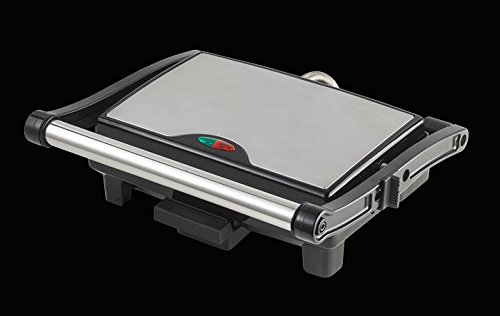 Brandani Techno Collection électrique Plaque chauffante en Aluminium/Acier Inoxydable, Métallique, Taille Unique