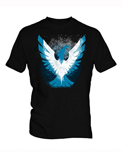 Polly Vera Infamous Second Son 3 Uomo Black T Shirt