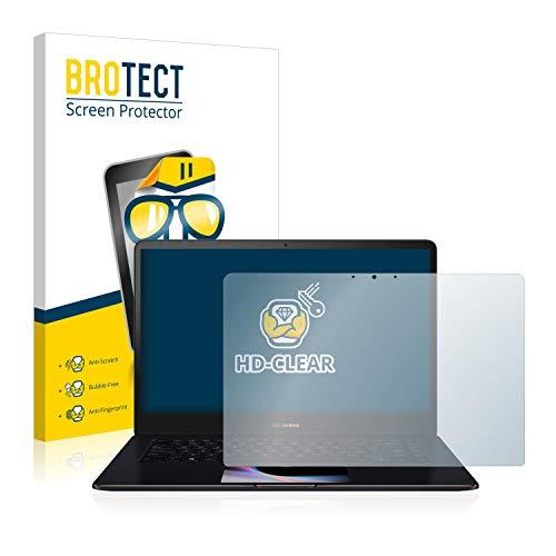 brotect Pellicola Protettiva Compatibile con ASUS Zenbook PRO 15 UX580GE Pellicola Trasparente Anti-Impronte