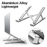 DOB SECHS Laptop Ständer, Einstellbare Tragbarer Faltbare Aluminiumlegierung Laptop-Halterung,...