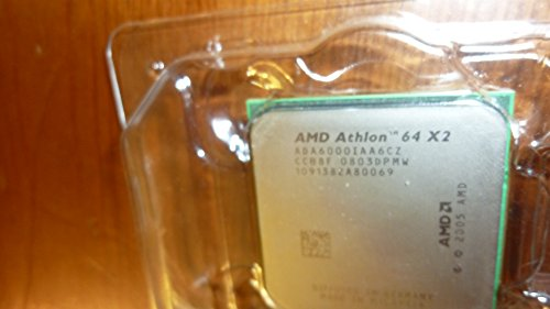AMD Athlon 64 X2 6000 + 3.0 GHz 2 x 1024KB Sockel AM2 Dual-Core CPU 89 W ada6000iaa6cz