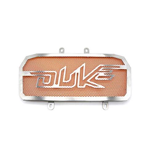 LAIDAN Motorrad Kühlerabdeckung Kühler Schutzgitter Radiator Guard Edelstahl Kühler schutzgitter Für KTM Duke 390 2013 2014 2015 2016 und KTM Duke 125/200,Orange