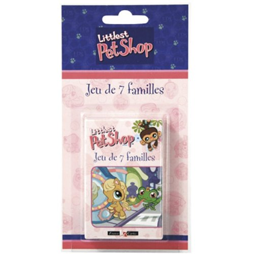 France Cartes - 404516 - Jeu de cartes - 7 Familles Pet Shop Blister