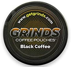 Grinds Coffee Pouches - 3 Cans - Black Coffee - Tobacco Free Healthy Alternative …