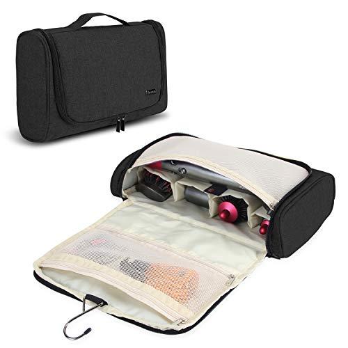 Teamoy Reise Tasche Für Dyson Airwrap Styler, Tragen Hülle für Dyson Airwrap Frisur-Werkzeug und umfangreichem Zubehör, Schwarz