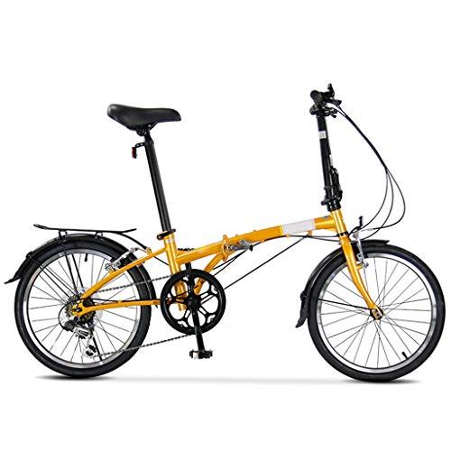 TYXTYX Faltrad 20 Zoll Stahl, Unisex Falt-Fahrrad,Klapprad, Klappfahrrad, leicht und robust,6 Gangschaltung Kettenschaltung