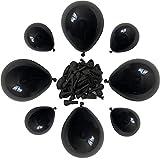 Black Balloons, 100 Pcs Black Party Balloons,...