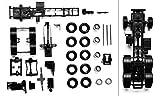 herpa 083485-Chasis de Tractor Man Vehculo de 3 Ejes con traccin a Las Cuatro Ruedas, 2 Piezas (083485)