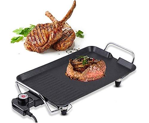 ASDFGH Antihaft-Pfanne, 2 in 1 Grillpfanne, Kebab, Party, Buffet Teller, Familie Pfannkuchen Barbecue Herd, for Camping, Party Machen und Innenaufnahme, (Size : M)