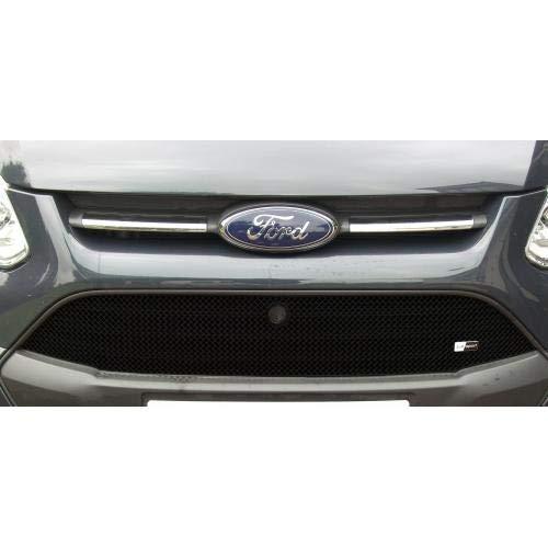 Zunsport Compatible avec Ford Transit Custom - Calandre supérieure - Finition Noir (2013-2018)