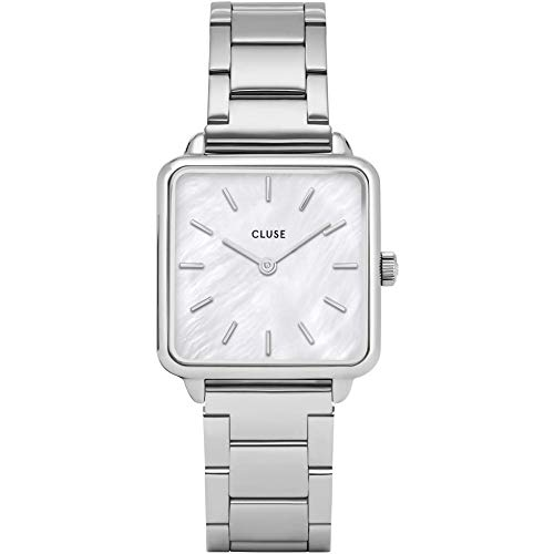 Cluse Damen Analog Quarz Uhr mit Edelstahl Armband CL60025S