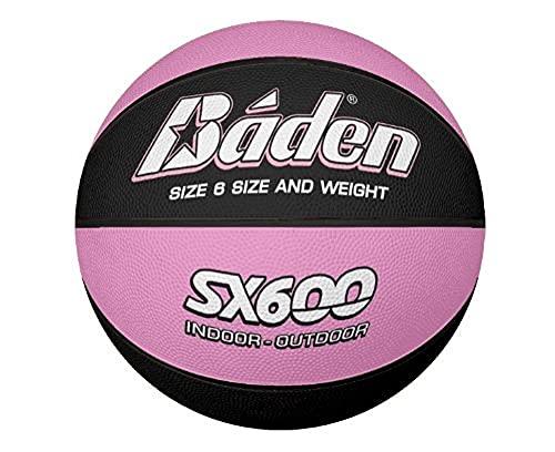 Baden SX600 - Pallone da basket unisex, taglia 6, colore: Marrone chiaro
