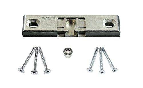 GU Universal Türschnäpper Balkontürschnäpper 6-32819 mit Rollzapfen (auch als Reparatur für andere Hersteller geeignet) incl. SN Montagematerial