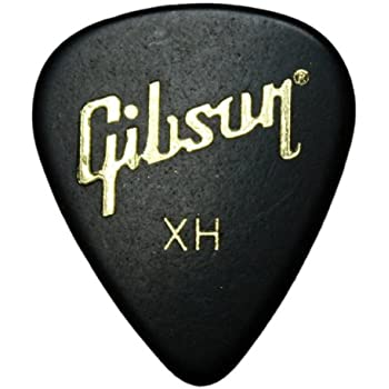 12 x Gibson cintas elásticas para hacer estándar Púas para guitarra presentadas en estuche de metal: Amazon.es: Instrumentos musicales