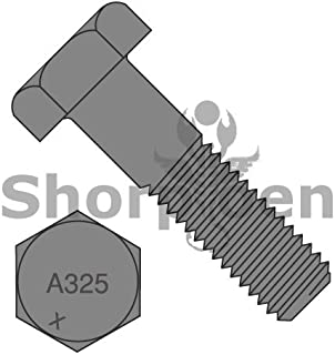 75pcs 3//4-10X3-3//4 Structural Bolts Galvanized Steel