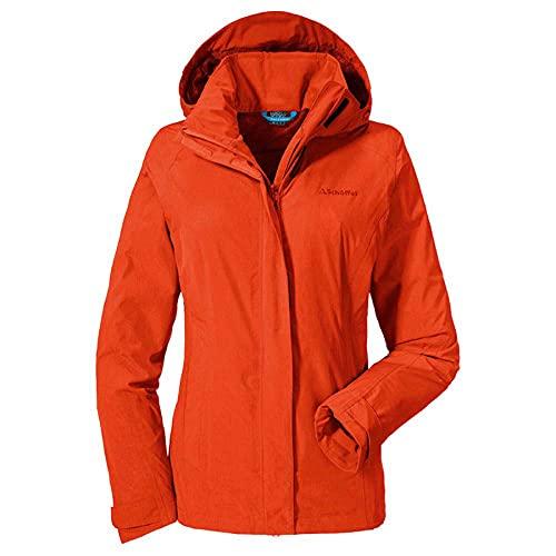 adidas Damen Jacke Easy L3 Mel M Mandarin Red