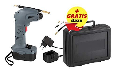 Westfalia 18V Akku Druckluftpumpe und Luftkompressor Luftdruck bis 7 bar kabellos und tragbar