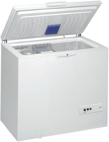 Whirlpool WHM31112 Autonome Coffre 311L A++ Blanc congélateur - congélateurs (Autonome, Coffre, A++, Blanc, 4*, SN-T)