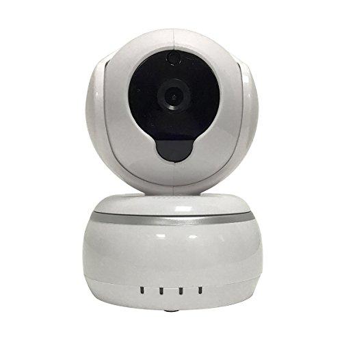 Cámara casera HD 720P Night Vision Cámaras web wifi wifi menos cámara ip, reducción de ruido de eco 3D, voz de dos vías, soporte de alerta de anillo para IOS y Android (blanco)