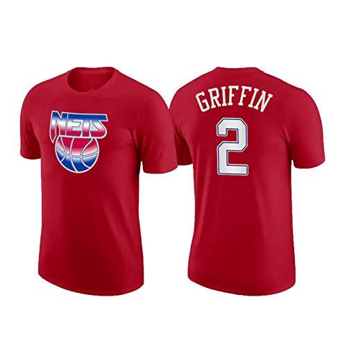 USSU Něts 2# 2021 grǐffǐn Camiseta de Baloncesto Tops Tops Camisetas para Hombres Fan de Baloncesto Jersey Jersey Capacitación de Baloncesto Jersey Jersey Tacksuit, resi XS