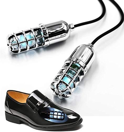 LanXi Lámparas UV Zapatos ultravioleta (UV) Desinfectante Secador/Desodorizador/Esterilizador de botas/Mata hongos en las uñas Luz UV para desinfección