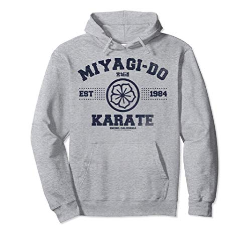 Cobra Kai Miyagi-Do Collegiate Logo Sudadera con Capucha