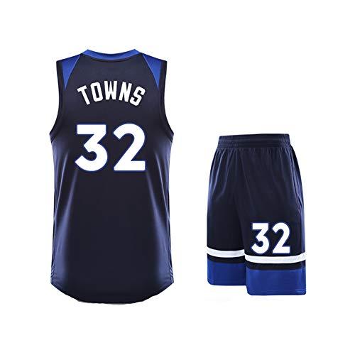 YYFZ Karl-Anthony Towns 32 Timberwolves Basketball Jersey, Basketball Jersey pak Zomer Dames Korte mouw