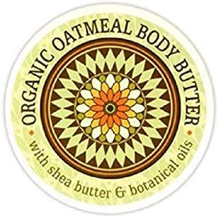 Greenwich Bay Trading Co. Garden Body Butter with Shea and Cocoa Butter (Organic Oatmeal)