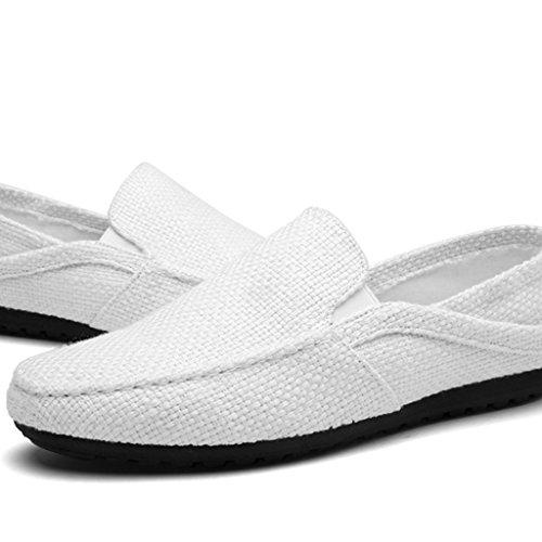 YaNanHome Espadrilles zeildoekschoenen mannen zomer ademende doek schoenen mannen casual schoenen Koreaanse stijl linnen schoenen